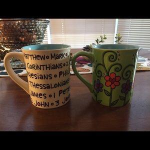 Religious pun mugs